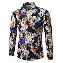billige Herreringer-Skjorte Herre - Blomstret Forretning
