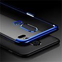 tanie Etui na telefony & Folie ochronne-Kılıf Na OnePlus OnePlus 6 / OnePlus 5T Transparentny Osłona tylna Solidne kolory Miękka TPU na OnePlus 6 / OnePlus 5T