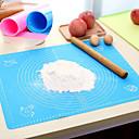 halpa Kakkumuotit-1kpl Silikoni-geeli Monikäyttö Creative Kitchen Gadget For Keittoastiat Suorakulma Leivinpaperit ja paistoalustat Bakeware-työkalut