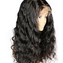 cheap Human Hair Wigs-Remy Human Hair Full Lace Wig Brazilian Hair Wavy Wig Layered Haircut 130% With Baby Hair / Natural Hairline Black Women's Short / Long / Mid Length Human Hair Lace Wig