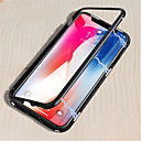 abordables Fundas para Teléfono & Protectores de Pantalla-Funda Para Apple iPhone X / iPhone 8 Espejo / Magnética Funda de Cuerpo Entero Un Color Dura Metal para iPhone X / iPhone 8 Plus / iPhone