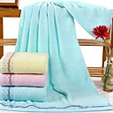 cheap Bath Towel-Fresh Style Bath Towel, Solid Colored Superior Quality Pure Cotton Woven Plain 1pcs