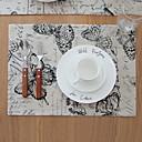 ieftine Fețe de masă decorative-Contemporan PVC Pătrat Tăblițe masă Geometric Decoratiuni de tabla 1 pcs
