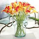 זול צמחים מלאכותיים-פרחים מלאכותיים 8 ענף מסוגנן / כפרי חבצלות (קלה לילי) / פרחים נצחיים פרחים לשולחן