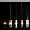 preiswerte Pendelleuchten-QIHengZhaoMing 6-Licht Cluster Pendelleuchten Raumbeleuchtung Galvanisierung Metall Glas 110-120V / 220-240V Wärm Weiß Glühbirne nicht inklusive
