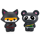 cheap Gags & Practical Jokes-LT.Squishies Squeeze Toy / Sensory Toy / Stress Reliever Panda Stress and Anxiety Relief / Decompression Toys Poly urethane 2 pcs