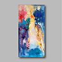 povoljno Ulja na platnu-Hang oslikana uljanim bojama Ručno oslikana - Sažetak / Pejzaž Comtemporary Platno