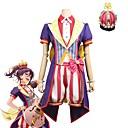 olcso Parti fejdíszek-Ihlette BanG Dream Szerepjáték Anime Szerepjáték jelmezek Cosplay ruhák Más Rövid ujjú Kabát / Felső / Nadrágok Kompatibilitás Uniszex Mindszentek napi kösztümök