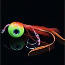 billige Fiskekroker-1 pcs stk Sluk J Fiskekrok Bly / Metallisk Søfisking / Fluefisking / Agn Kasting