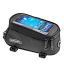 baratos Bolsas para Quadro de Bicicleta-ROSWHEEL Bolsa Celular / Bolsa para Quadro de Bicicleta 5.3 polegada Sensível ao Toque, Prova-de-Água Ciclismo para iPhone 8/7/6S/6 / Zíper á Prova-de-Água