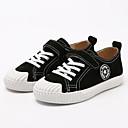 זול נעלי ילדים-בנים נעליים עור חזיר אביב קיץ נוחות נעלי ספורט סקוטש ל ילדים שחור / אפור / חום