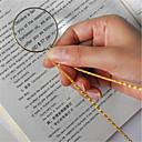 preiswerte Bürobedarf-dekorative Monokel Halskette mit Lupe Lupe Anhänger Gold Silber vergoldet Kette Halskette für Frauen Schmuck