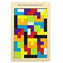 cheap Wooden Puzzles-Wooden Puzzle Creative / Geometric Pattern Wooden 42 pcs Preschool All Gift