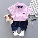 ieftine Set Îmbrăcăminte Băieți Bebeluși-Bebelus Băieți Casual / De Bază Sport Imprimeu Imprimeu Manșon Lung Bumbac Set Îmbrăcăminte / Copil