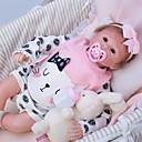 ieftine Păpuși-OtardDolls Păpuși Renăscute Bebe Fetiță 18 inch Silicon - Nou nascut natural Confecționat Manual Siguranță Copii Non Toxic Interacțiunea părinte-copil Lui Kid Fete Jucarii Cadou