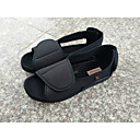 cheap Men's Slip-ons & Loafers-Men's Knit Summer Comfort Sandals Black / Wine