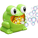 זול צעצועים מסתובבים-צעצוע בועות סבון רומנטיקה / צפרדע יצירתי / אוטומטי / מצחיק 1 pcs לילד מתנות