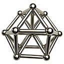 levne Magnetické kostky-63 pcs Magnetické hračky magnetické kuličky Magnetické tyčinky Stavební bloky Neodymové magnety Kovový Magnetické Stres a úzkost Relief Office Desk Toys Zbavuje ADD, ADHD, úzkost, autismus Novinka
