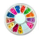 voordelige Nagelstrass & Decoraties-36 pcs Tips voor kunstmatige nagels Nail Art Kit Nagelsieraden Modieus Design / Kant Nagel kunst Manicure pedicure Alledaagse kleding Stijlvol / Eenvoudig / Kynsien korut