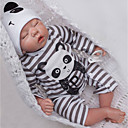cheap Reborn Doll-OtardDolls Reborn Doll Baby Boy 20 inch Silicone - Newborn lifelike Eco-friendly Gift Hand Made Child Safe Kid's Boys' / Girls' Toy Gift / Floppy Head / Tipped and Sealed Nails / Natural Skin Tone