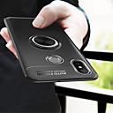 זול מגנים לטלפון & מגני מסך-מגן עבור Xiaomi Mi 8 / Mi 6X מחזיק טבעת כיסוי אחורי אחיד רך TPU ל Xiaomi Mi Mix 2 / Xiaomi Mi Mix 2S / Xiaomi Mi 8