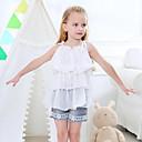 ieftine Rochii Fete-Copii Fete Floral Fără manșon Set Îmbrăcăminte