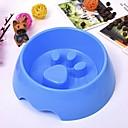 tanie Miski i podajniki na karmę dla psów-6 L Psy / Króliki / Koty Miski i butelki na wodę / Podajniki pokarmu Zwierzęta domowe Miski i Żywienie Przenośny / Mini / Trener Zielony / Niebieski / Różowy