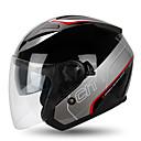 abordables Iluminación para Moto-YOHE YH-868 Medio Casco Adultos Unisex Casco de la motocicleta Transpirable / Desodorante / Anti-sudor