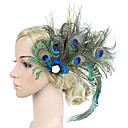 preiswerte Haar Accessoires-Damen Retro / Elegant Haar Clip / Fascinator - Blume