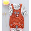 ieftine Pantaloni Băieți-Copii Băieți Activ Mată / Geometric Imprimeu Manșon Lung Regular Bumbac Set Îmbrăcăminte Negru 100
