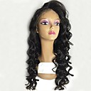 cheap One Pack Hair-Remy Human Hair Full Lace Wig Brazilian Hair Wavy Wig Layered Haircut 130% With Baby Hair / For Black Women / 100% Hand Tied Black Women's Short / Long / Mid Length Human Hair Lace Wig