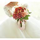 """זול פרחי חתונה-פרחי חתונה זרים חתונה / מסיבת החתונה מֶשִׁי / בדים 11-20  ס""""מ"""