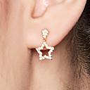 olcso Divat fülbevalók-Női Beszúrós fülbevalók - 18 karátos futtatott arany, S925 ezüst Tengeri csillag Kecses, Édes Arany Kompatibilitás Napi Szerető