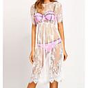abordables Trenzas-Mujer Playa Recto Vestido Midi