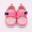 baratos Sapatos de Bebês-Para Meninas Sapatos Algodão Primavera & Outono Primeiros Passos Tênis Velcro para Bebê Vermelho / Azul / Rosa claro
