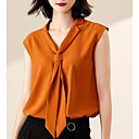 cheap Body Jewelry-women's blouse - solid colored v neck
