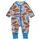 ieftine Pantaloni Bebeluși-Bebelus Băieți De Bază Bloc Culoare Manșon Lung Poliester O - piesă Albastru piscină 90 / Copil