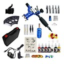 cheap RC Drone Quadcopters & Multi-Rotors-BaseKey Tattoo Machine Starter Kit - 1 pcs Tattoo Machines with 7 x 15 ml tattoo inks, Kits, New, Wind Speed Regulation Aluminum Alloy Charger Direct Case Included 20 W 1 rotary machine liner & shader