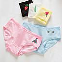 cheap Diving Masks, Snorkels & Fins-Women's Shorties & Boyshorts Panties Solid Colored Mid Waist