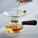ieftine Cafea și Ceai-sticlă / Lemn Rezistentă la căldură / Ceai neregulat 1 buc Filtre / Strecurătoare Ceai / ceainic