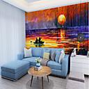 tanie TV Box-Mural Płótno Tapetowanie - klej wymagane Malarstwo / Art Deco / 3D