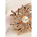 cheap Brooches-Women's Brooches - Fashion, Elegant Brooch Gold / Pink For Wedding / Party
