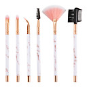 cheap Makeup Brush Sets-6-Pack Makeup Brushes Professional Makeup Brush Set Nylon fiber Eco-friendly / Soft Plastic