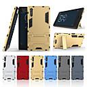 baratos Capinhas para Celular & Protetores de Tela-Capinha Para Sony Xperia XZ Com Suporte Capa traseira Sólido Rígida PC para Sony Xperia XZ