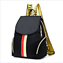 cheap Backpacks-Women's Bags Polyester Backpack Zipper Black
