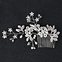cheap Wedding Shoes-Rhinestone / Alloy Hair Combs / Hair Stick / Hair Accessory with Rhinestone / Faux Pearl 1 Piece Wedding / Party / Evening Headpiece
