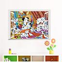 ieftine Acțibilde de Perete-Autocolante de Perete Decorative - 3D Acțibilduri de Perete / Animal Stickers de perete Animale Sufragerie / Dormitor / Baie