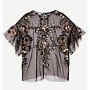 זול שרשרת אופנתית-חולצה לנשים - צוואר בצבע מלא