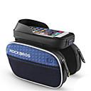 رخيصةأون طقم ماوس ولوحة مفاتيح-ROCKBROS حقيبة الهاتف الخليوي / حقيبة دراجة الإطار 6 بوصة مقاوم للماء ركوب الدراجة إلى iPhone 8 Plus / 7 Plus / 6S Plus / 6 Plus أخضر