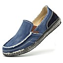 cheap Men's Slip-ons & Loafers-Men's Denim Summer Comfort Loafers & Slip-Ons Dark Blue / Gray / Khaki